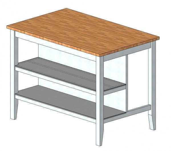 RevitCitycom  Object  IKEA Stenstorp kitchen island