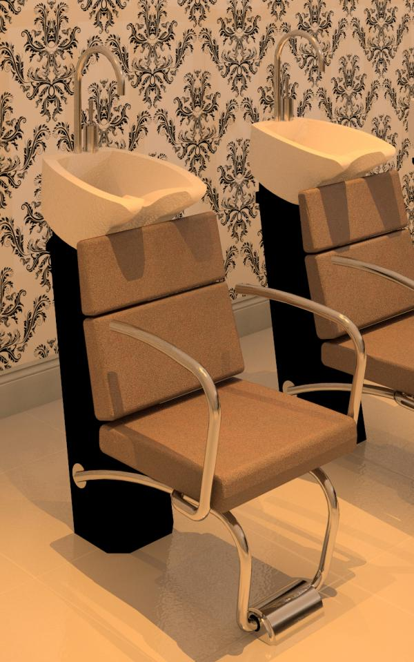 Salon Shampoo Chairs