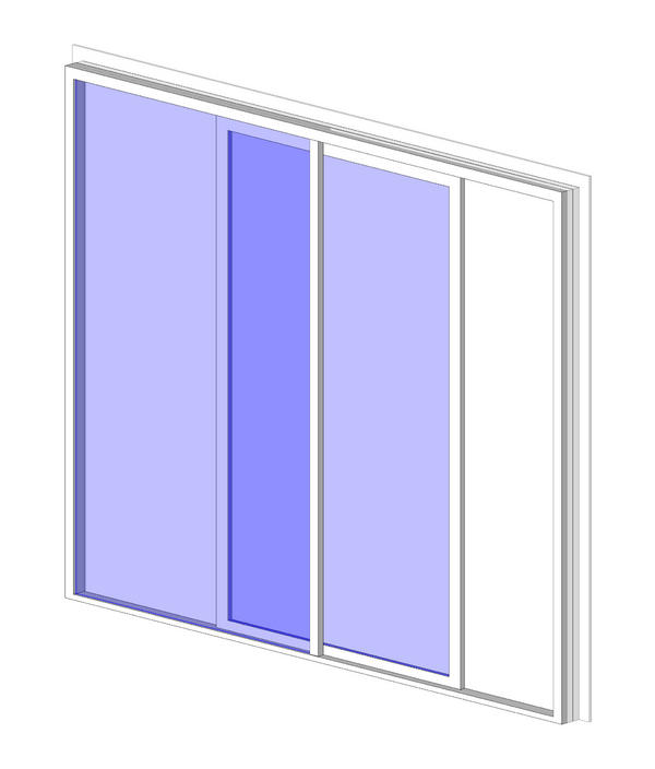 Curtain Wall Sliding Door Revit Family - Inspirational
