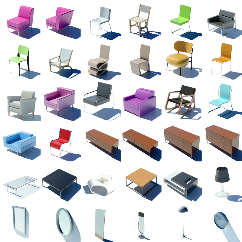 swing chair revit family clear plastic rung protectors the lift families