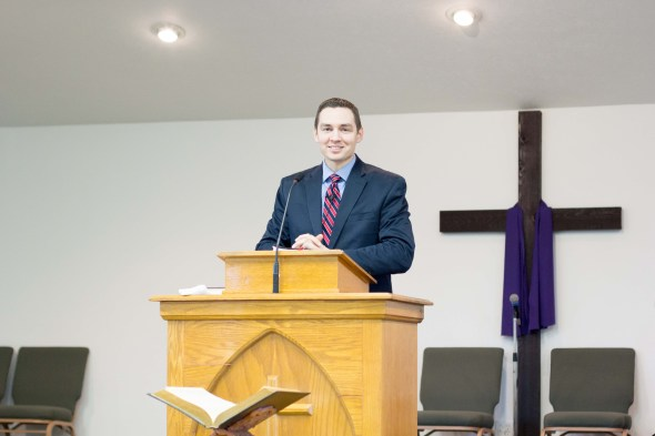 Kevin was able to share our vision for church restoration with three churches this week.
