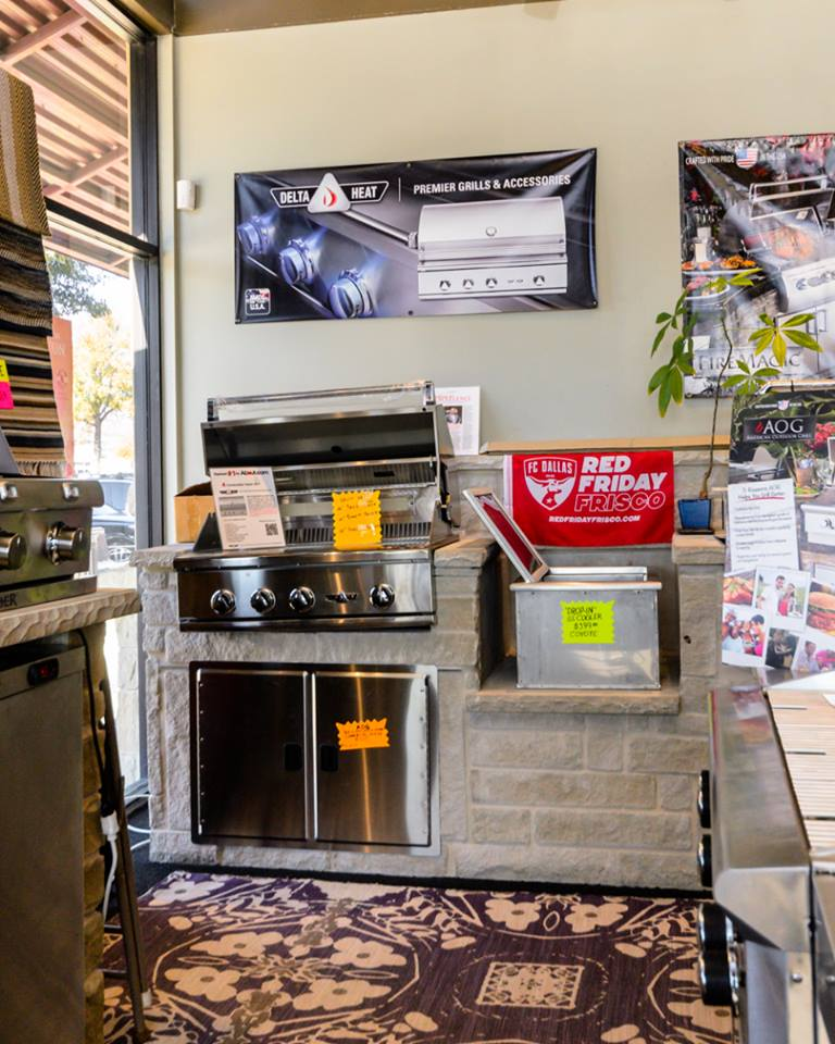 Fireplace Store Frisco TX  Fireplace Store Near Me  Flames Fireplaces  Gas Grills