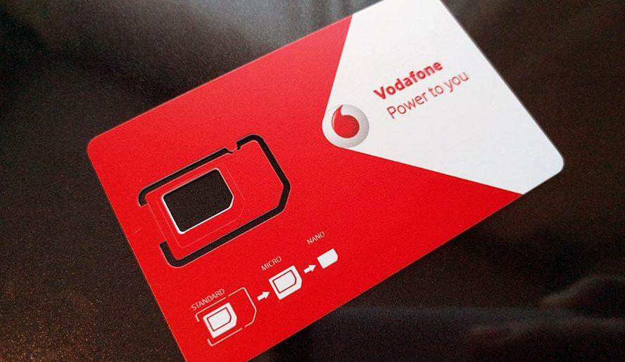 Nano SIM de la Vodafone? Mult mai simplu faţă de acum 4 ani