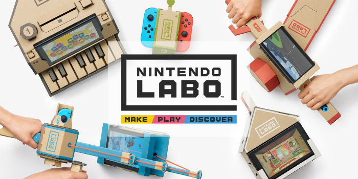 Nintendo Labo: copiii se întorc la jucării de carton?
