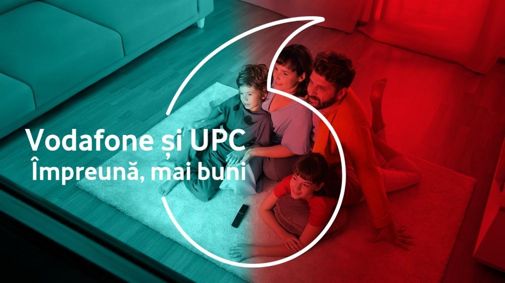 Prima ofertă convergentă cu beneficii pentru clienții Vodafone și UPC