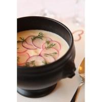 Lion head soup bowls black porcelain French Classique