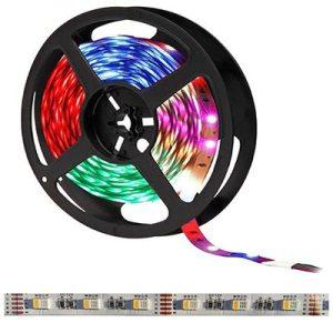 RGBNW LED pás, 12V, 14.4W/m, 60LED/m, 960Lm/m, IP20