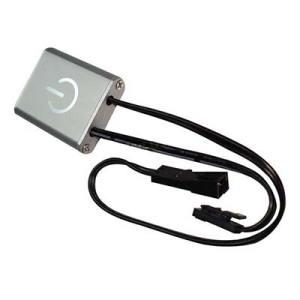 LED dotykový stmievač 12V/24V DC šedý