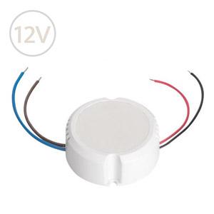 Prachuvzdorný napájací zdroj pre LED pásy do krabičky 12V / 15W / IP20
