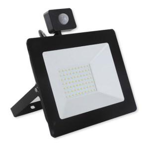 PREMIUM LED reflektor so senzorom 100W, 10000lm, neutrálna biela
