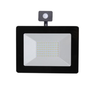 PREMIUM, LED, reflektor, so, senzorom, 50W, 4500lm