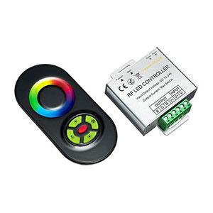 RF dotykový ovládač pre RGB LED pásy + prijímač