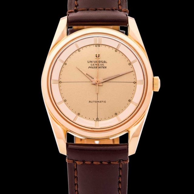Universal Genève Polerouter Automatic Pink Gold