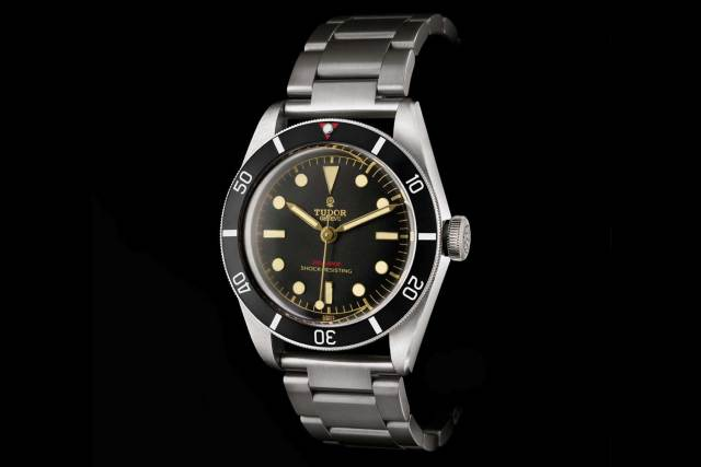 The unique Tudor Black Bay One for Only Watch 2015 based on the ref. 7923