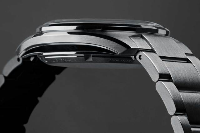The new Christopher Ward C65's case takes on the technical design of past manufacturer Ervin Piquerez S.A. or EPSA, which actually makes the case more waterproof the deeper the watches go