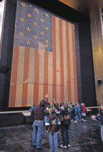 Star Spangled Banner Flag, National Museum of American History Flag Hall