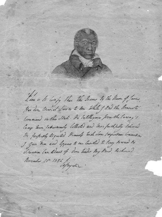 James Armistead Americas Slave Spy Gets His Freedom