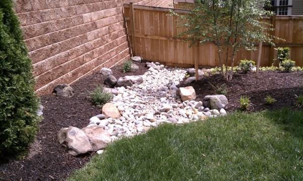 dry streambeds drainage