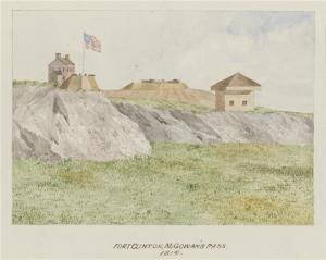 Fort Clinton at McGowans Pass
