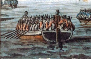 British flat bottom invasion craft