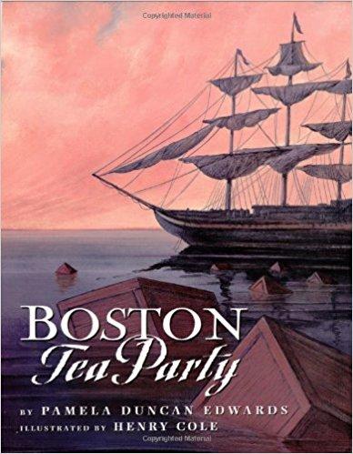 Boston Tea Party By Pamela Edwards
