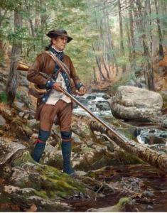 Kentucky long rifle – Revolutionary War Journal