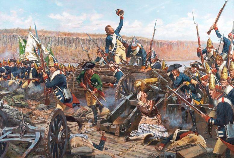 Troiani's Battle of Fort Washington