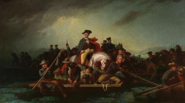 Geroge Caleb Bingham Washington Crossing the Delaware