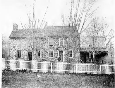 William Keith farmhouse four miles north of Newtown, Bucks County Pennsylvania. Washington resided there from December 14th until he crossed back into New Jersey.