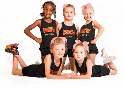 little cheerleaders