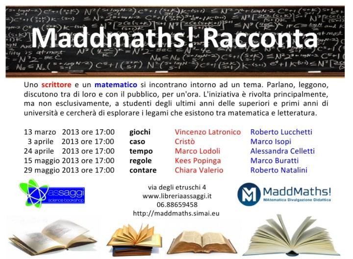 Maddmaths! Racconta