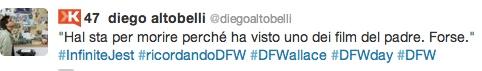 Diego Altobelli #RicordandoDFW #InfiniteJest