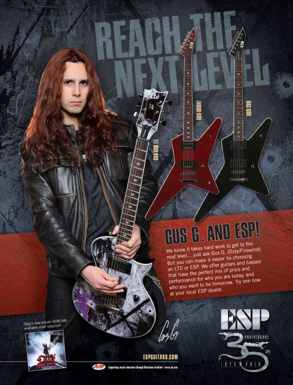 Gus G & The RockART Guitar