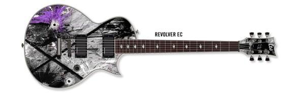 Revolver EC - Gus G signature model. Design by Björn Johansson & Patric Ullaeus