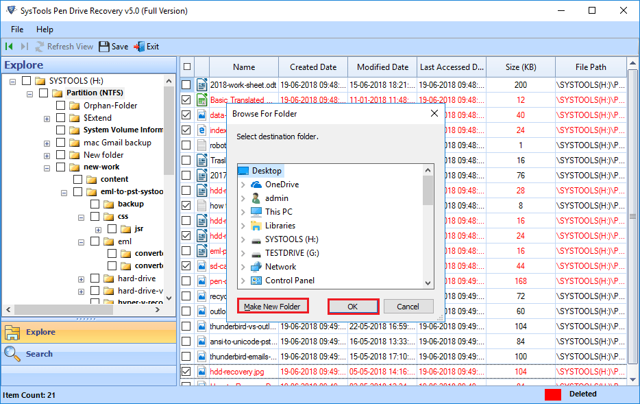 how to recover files from a flash drive that needs to be formatted
