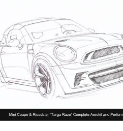 revozport s mini targa raze for coupe [ 1233 x 856 Pixel ]