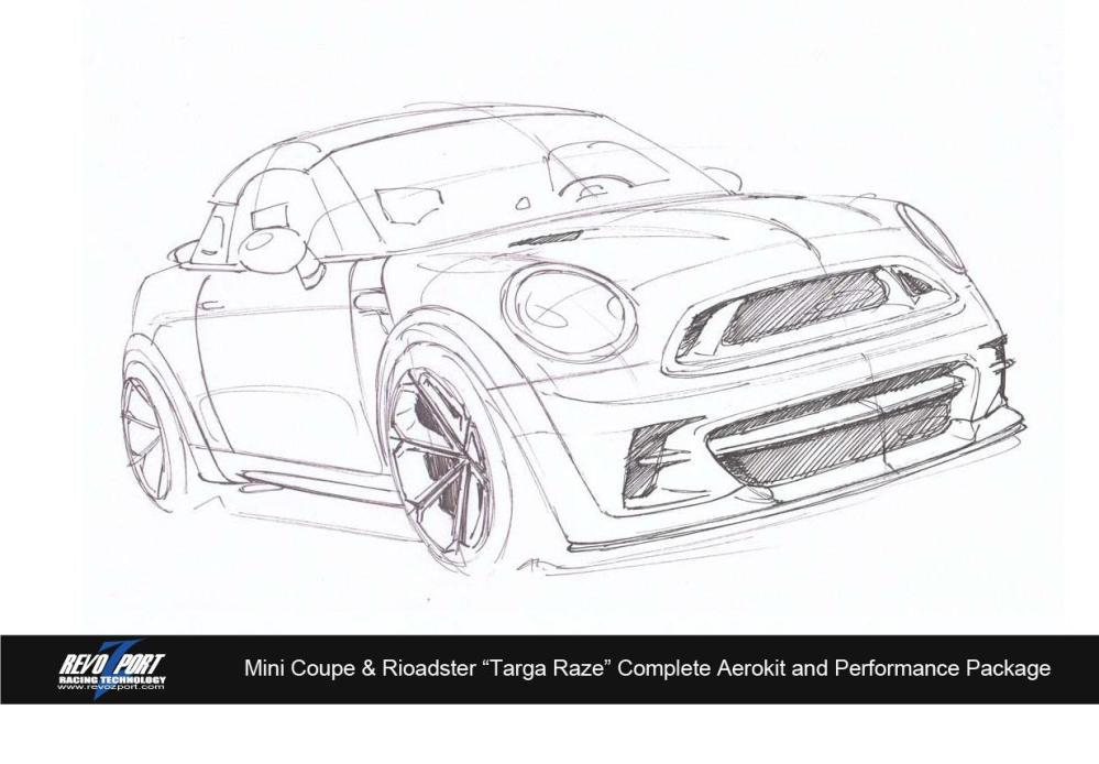 medium resolution of revozport s mini targa raze for coupe