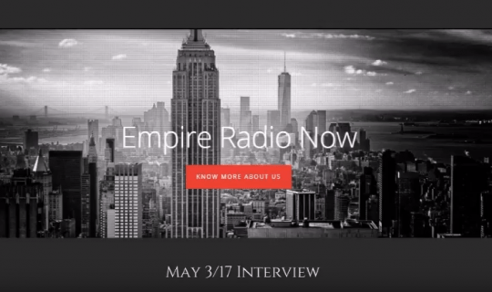 Ruth van Vierzen on Empire Radio