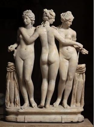 272. dames romaines.3 Graces 2