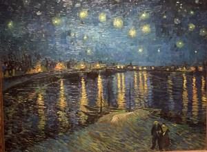 Chez Van Gogh, la contemplation de la voûte céleste pendant la nuit éveille ses sentiments religieux les plus profonds.