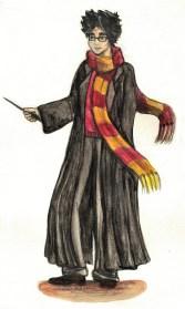 Harry incarne un garçon (presque) normal et une forme de « banalité du bien : la possibilité d'une action moralement juste, voire héroïque, dans des périodes sombres, possibilité qui est même offerte à des garçons malingres porteurs de lunettes en nickel »