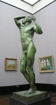 Le corps nu est la prédilection de Rodin.