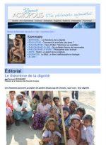 Première de couverture de la Revue Acropolis n°290
