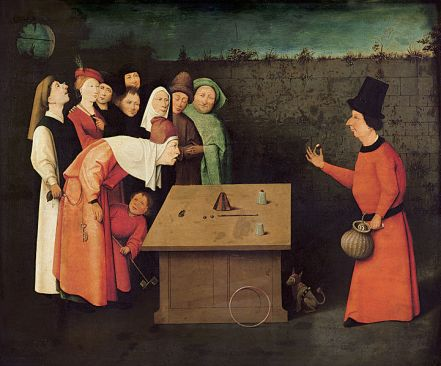 L'escamoteur de Jérome Bosch se dresse en maître incontesté.