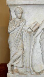 Callliope, Muse de la poésie épique.