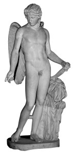 Eros, avec ses ailes, vient nous frapper et nous éveiller à sa force de cohésion.