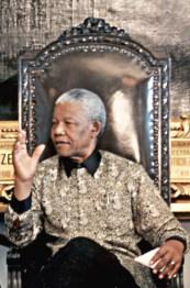 Nelson Mandela militait depuis 1948 contre l'Apartheid en Afrique du Sud.