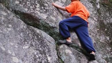 Pour éviter tout risque d'accident ou de maladie, les enfants n'ont le droit ni de grimper aux arbres, ni d'escalader les rochers, ni de patauger dans l'eau.