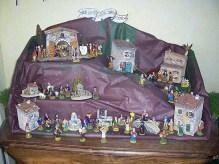 La crèche représente la Nativité (naissance du Christ). Elle devient populaire en Provence.