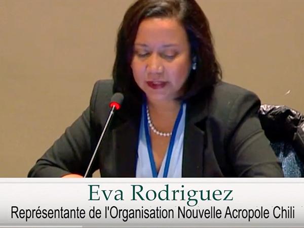 Eva Rodriguez Directrice de Nouvelle Acropole Chili